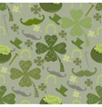 seamless pattern with St vector image vector image