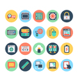 Technology and Hardware Icons 4 vector image