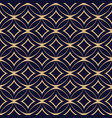 abstract geometric seamless pattern with vector image vector image