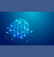 blueblock vector image