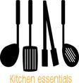 Kitchen Essentials vector image vector image
