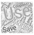 SM patience and saving money Word Cloud Concept vector image vector image