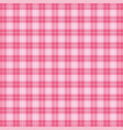 valentine day tartan plaid pattern scottish cage vector image