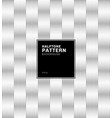 abstract geometric black square pattern halftone vector image