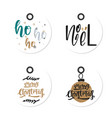 gift christmas and happy new year tags in vector image vector image