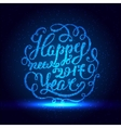 Happy New Year EPS 10 Holiday vector image vector image