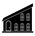 House icon simple style vector image vector image