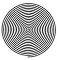 large spiral vector image
