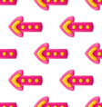 Seamless pattern with arrows-2 vector image vector image