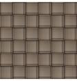 Wicker skin pattern vector image