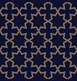 abstract seamless dark geometric pattern vector image