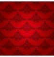 damask seamless floral pattern vector image