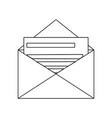 email envelope message invitation letter concept vector image vector image