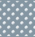 hand drawn dark blue and white polka dot seamless vector image vector image