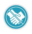 new normal avoid handshaking after coronavirus vector image vector image