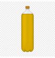 pet plastic bottle vector image