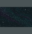 space starry background vector image