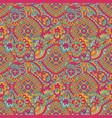 tribal geometric ethnic seamless pattern vector image vector image