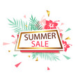 banner for summer sale vector image