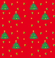 Christmas Tree Texture vector image