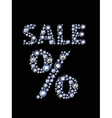 Diamond Sale vector image vector image