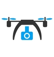 Drone Video Camera Icon vector image
