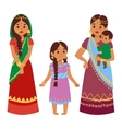 indian people vector image vector image