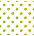 turning sunflower pattern seamless vector image