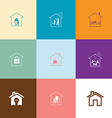 Home set vector image