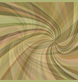 geometric double spiral background - design from vector image vector image