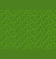 green pixel seamless background vector image vector image