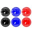 grenada rubber stamp vector image vector image
