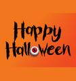 halloween background with eyeball vector image vector image
