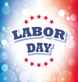 labor day america banner 2 vector image vector image