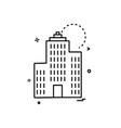 real estate icon design vector image vector image