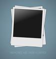 Photos template vector image