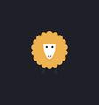 Sheep computer symbol vector image