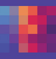 abstract squares colorful background template vector image