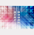 abstract striped geometric colorful blue and red vector image vector image