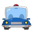Cartoon Police Car vector image vector image