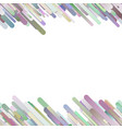 colorful trendy abstract gradient background with vector image vector image