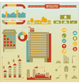 Construction Icons and graphics vector image vector image