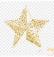 golden star gold stars confetti concept gold vector image