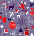 Retro Christmas Background Design vector image vector image
