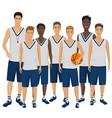 young basketball vector image