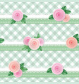 plaid textile seamless pattern background vector image vector image