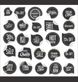premium quality modern sticker and tag collection vector image vector image