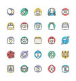Wedding Cool Icons 1 vector image vector image