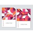 Cover design for Brochure leaflet flyer Abstract vector image