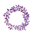 abstract mythic tree wreath watercolor vector image vector image